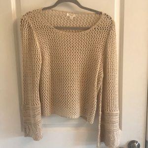 Sweaters - Tan sweater